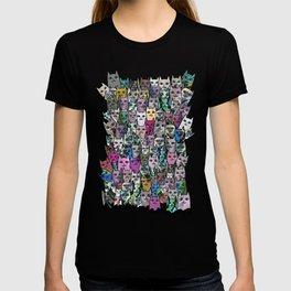 Gemstone Cats CYMK T-shirt