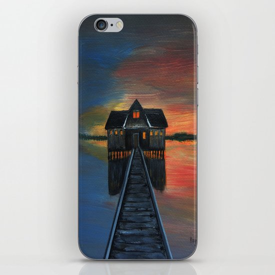 Old boat house  iPhone & iPod Skin