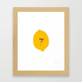 John Lemon Framed Art Print