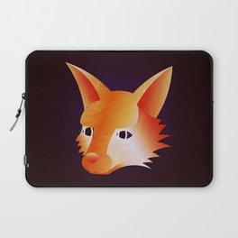 Red Little Fox Laptop Sleeve