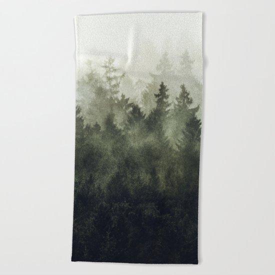 The Heart Of My Heart // Green Mountain Edit Beach Towel