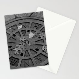 Mahattan Manhole Stationery Cards