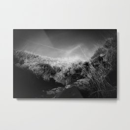 Infrared Valley Metal Print