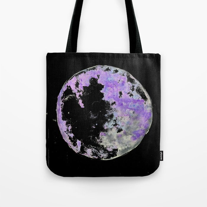 purple moon 02 Tote Bag