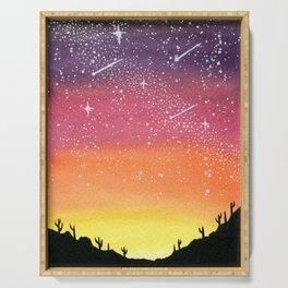 Desert Galaxy Serving Tray