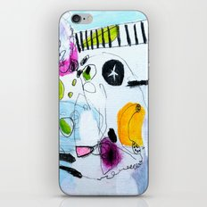 Your peonies my phone number iPhone & iPod Skin