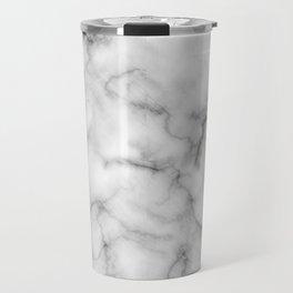 WHITE MARBLE Travel Mug