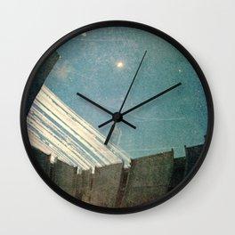 retrospective on the terrace Wall Clock