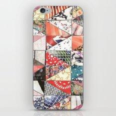 patchwork iPhone & iPod Skin