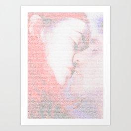 Eternal Sunshine Script Print Art Print