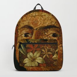 """Follower of Giuseppe Arcimboldo """"Anthropomorphic allegory of spring"""" Backpack"""