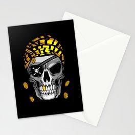 Skull Face Stationery Cards