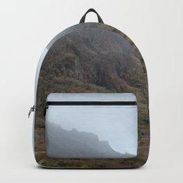 Halla-Mountain, Autumn in Yeongsil Valley , Jeju Island, Korea. Backpack