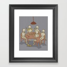 Jackstraw Framed Art Print