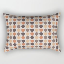 Fall Acorns Rectangular Pillow