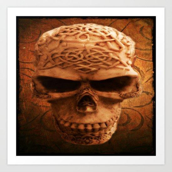 Simply Skull Art Print