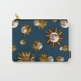 Sunflower Eclipse Carry-All Pouch