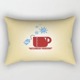 Biotechnology Engineering Rectangular Pillow