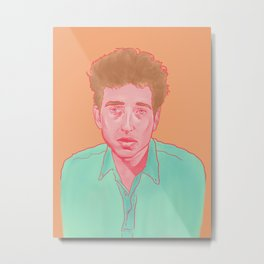 Bob Dylan freewheelin color portrait Metal Print