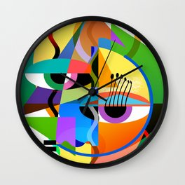 Picasso's Child Wall Clock