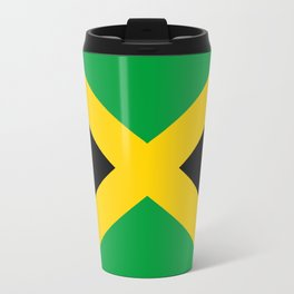 Flag of Jamaica Metal Travel Mug