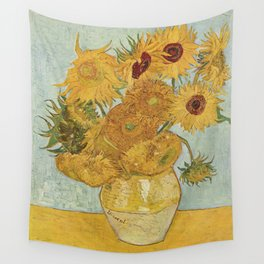 Vincent van Gogh's Sunflowers Wall Tapestry