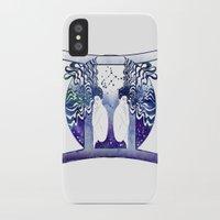 gemini iPhone & iPod Cases featuring Gemini by Stevyn Llewellyn