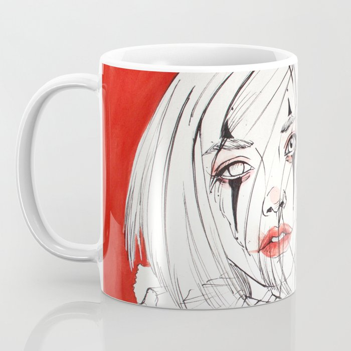 Carnival Clowns Coffee Mug