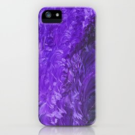 Fever And Feathers, #2, Purple iPhone Case
