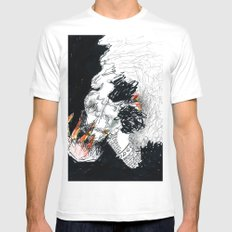 The Pack Mens Fitted Tee White MEDIUM