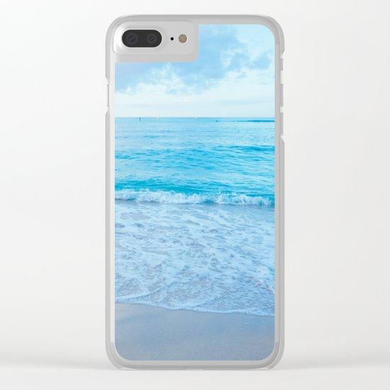 calm day 03 Clear iPhone Case