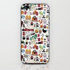 Kawaii Harry Potter Doodle iPhone & iPod Skin
