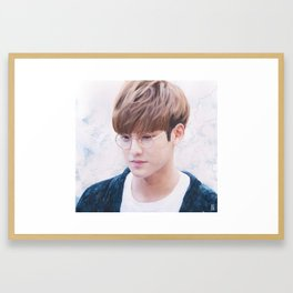 mingyu Framed Art Print
