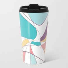 abstract summer 2 Metal Travel Mug