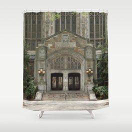 Ann Arbor Michigan Architecture Shower Curtain