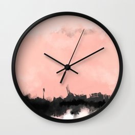 future cities Wall Clock