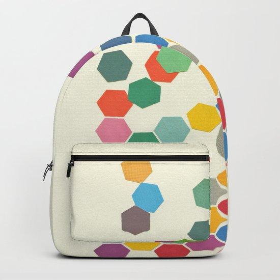 Falling Down Backpack