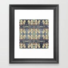 Fox Galaxy Framed Art Print