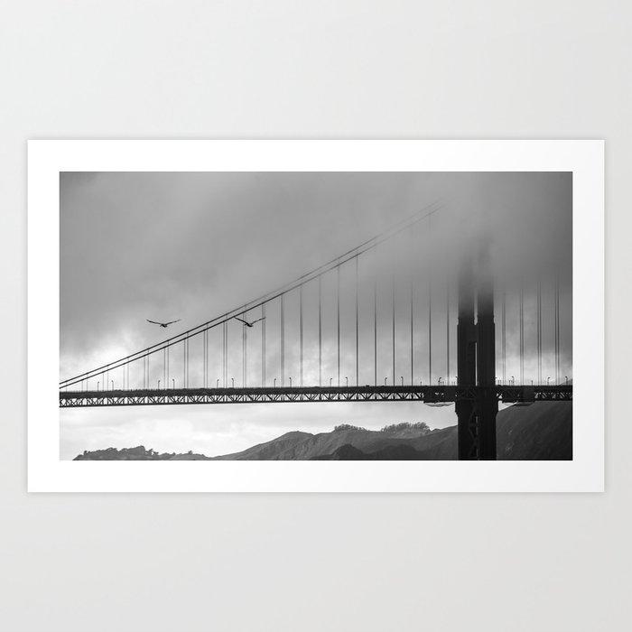 Gray Bay Art Print