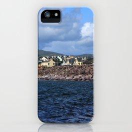 Irish Seaside Village, Co Kerry, Ireland iPhone Case