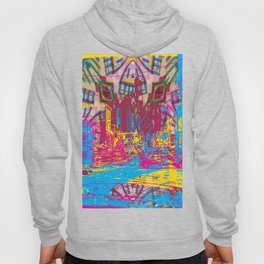 Paint the town Hoody