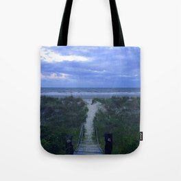 A Summer Sun's Exit Tote Bag