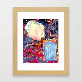 Power Trip Framed Art Print