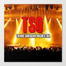 TRANS SIBERIAN TSO TOUR 2018 CICI12 Canvas Print
