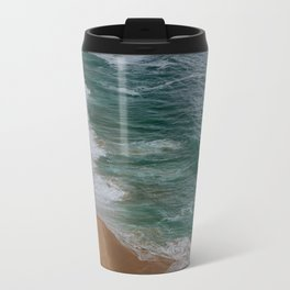 Marvelous Marbled Waves Travel Mug