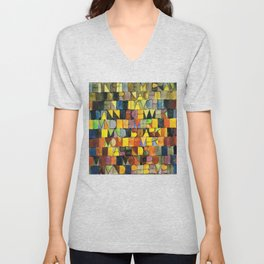 Paul Klee Once Emerged from the Gray of Night Unisex V-Neck