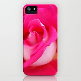 Rose Two-Tone iPhone Case
