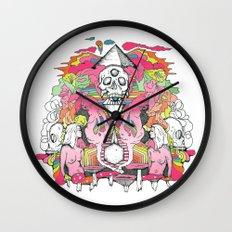 O K A Y Wall Clock