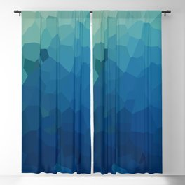 Sea Moon Love Blackout Curtain