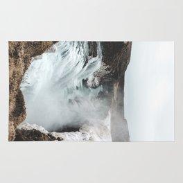Gullfoss - Landscape Photography Rug